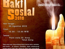 Bakti Sosial 29 Agustus 2010