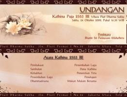 Kathina Puja 2553BE-2009