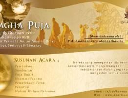 Magha Puja 2554 BE-2011