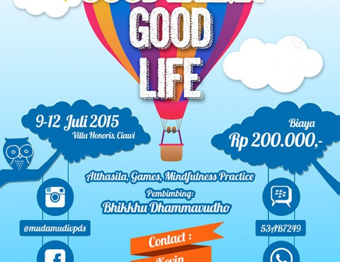 Retreat Remaja Buddhis - Good Sila, Good Karma, Good Life