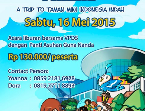 Adopt A Holiday Friend - A Trip To Taman Mini Indonesia Indah