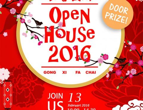 Open House 2016 - Gong Xi Fa Cai - 恭喜發財