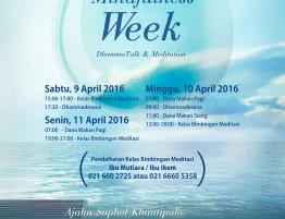 Mindfulness Week