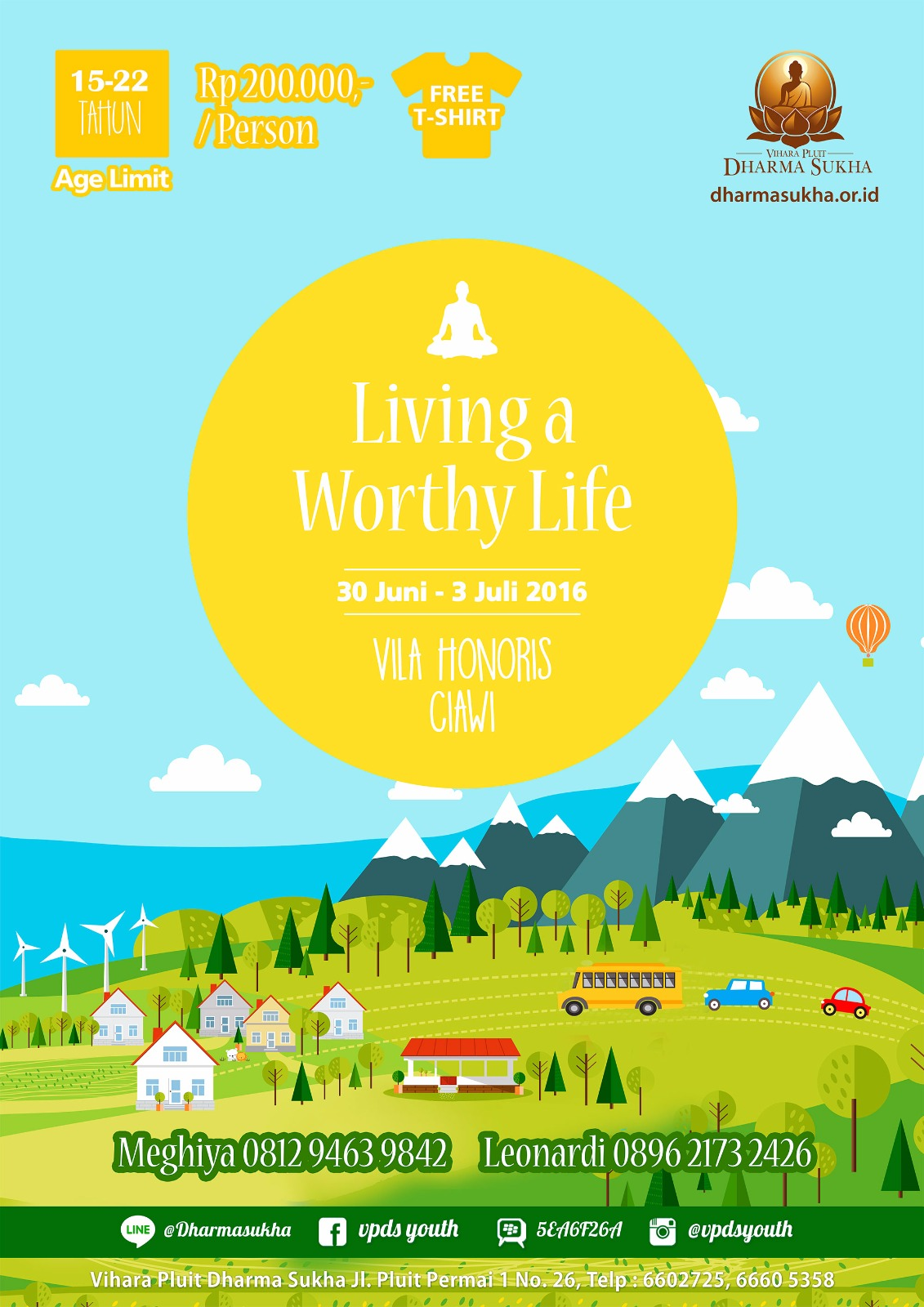 Retreat Living a Worthy Life