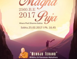Poster Magha Puja 2017