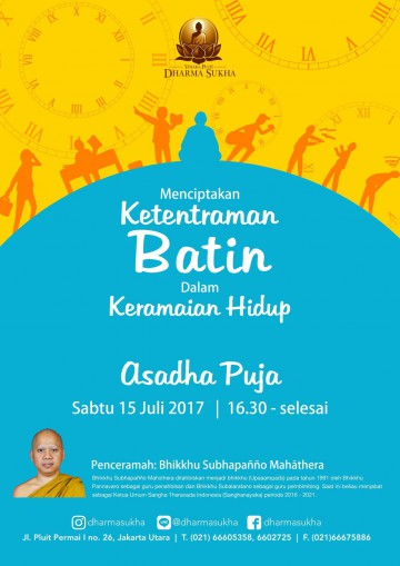 Asadha Puja 2561BE 2017